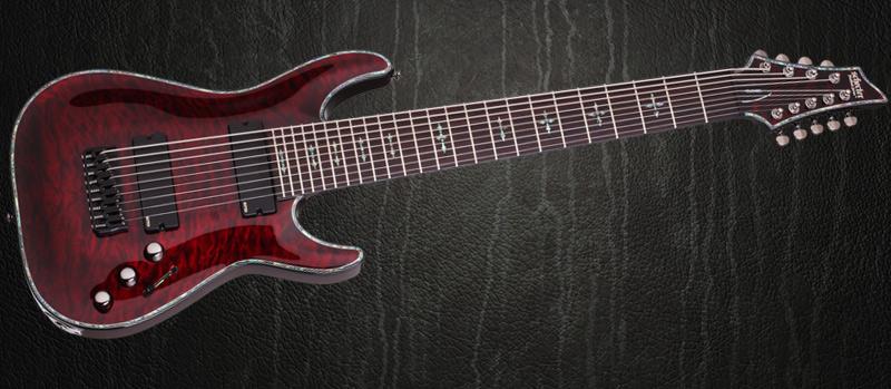 guitare electrique 9 cordes