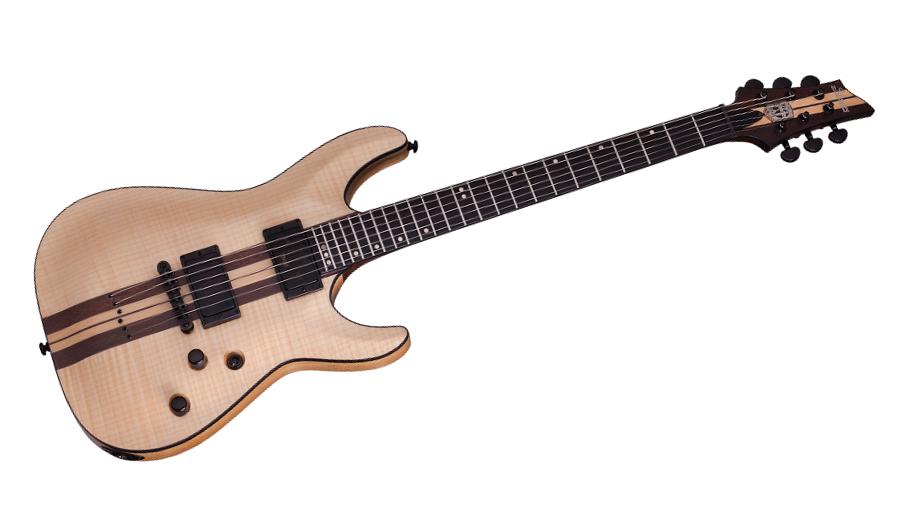 schecter c-1 40th anniversary guitare electrique